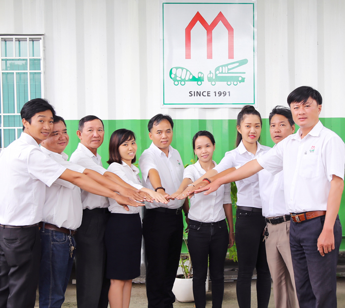 CB.CNV Bê tông Mê Kông với quyết tâm cao nhằm mang lại nhiều giá trị cho cuộc sống