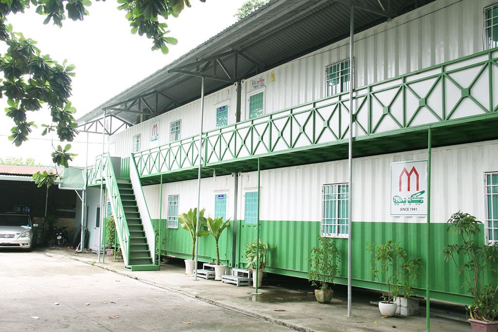 Một góc trụ sở chính của công ty