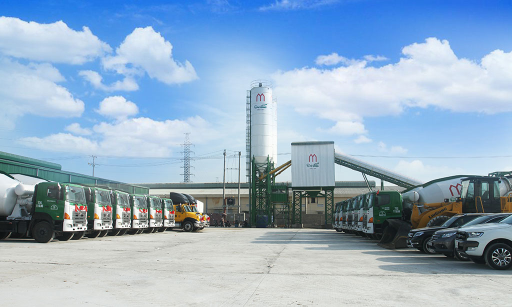 Một góc của Công ty TNHH Mê Kông Bình Định