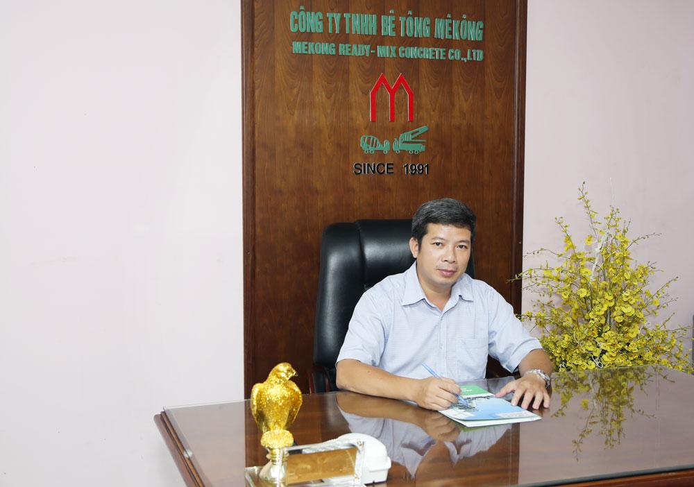Ông Trần Vũ Trung - Người thuyền trường đưa con thuyền Bê tông Mê Kông khẳng định vị trí số 1 trên thị trường hiện nay