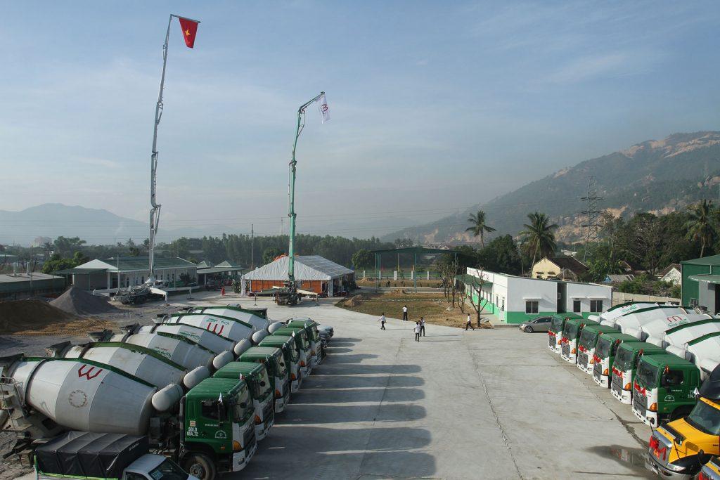 Một góc Công ty TNHH Mê Kông Bình Định